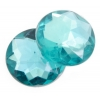 Acrylic 18mm Round Facet Teal